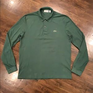 Lacoste Polo Long Sleeve Green FR 4 US M